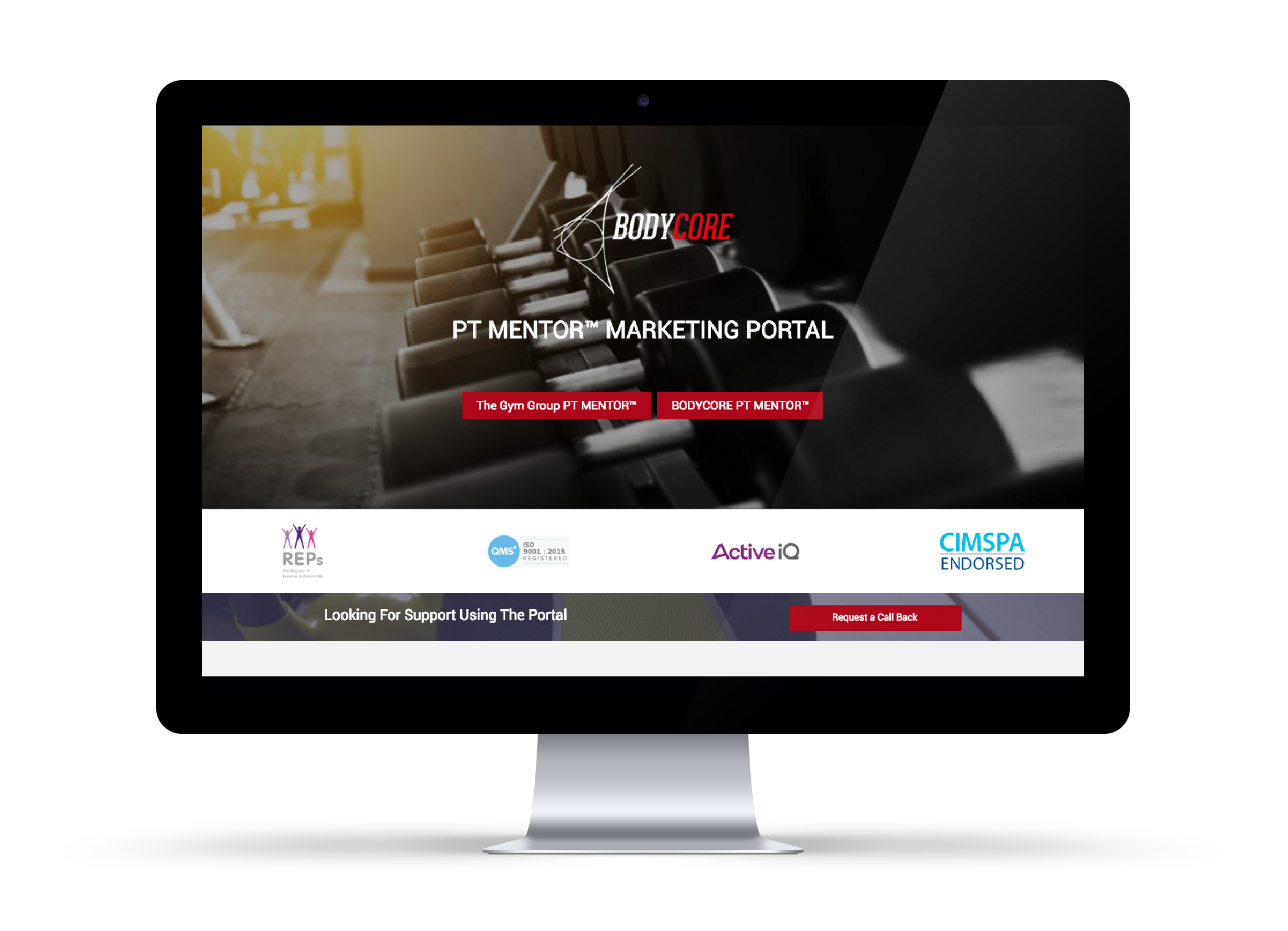 BODYCORE Marketing Portal
